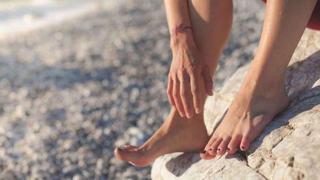 origine peau sèche des pieds